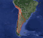 South America by bicycle
