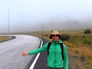 my hitchhiking hat